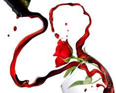 Free Romantic Valentine's Wine Desktop Wallpaper wallpaper resolution 1280x1024