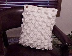 Free Crochet Heirloom Pillow Pattern