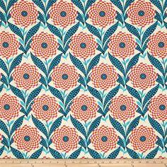 Amy Butler Eternal Sunshine Zebra Bloom Linen from @fabricdotcom  Designed by…