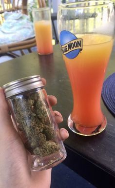 haisies:tequila sunrises and a jar of weed