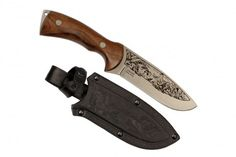 GLUKHAR KIZLYAR KNIFE (POLISHED, PATTERNED).Ergonomics is the most important…