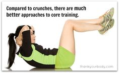 10 reasons why you should NOT do crunches.. Never knew this