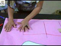 Curso de corte e costura online passo-a-passo. Aprenda a fazer essa Linda Saia Midi - parte 2 Mesmo que você não tenha nenhum conhecimento em Corte Costura, você vai conseguir fazer! Super Rápido e Fácil de fazer. http://www.alfinetadasdamoda.com.br