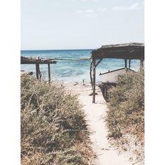 The beach #formentera #spain #travel #beach #sea