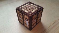 Minecraft plastic canvas crafting table