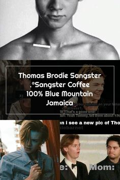 Thomas Brodie Sangster .®Sangster Coffee 100% Blue Mountain Jamaica