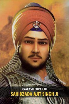#BlessedToSikh  Prakash Purab of Sahibzaade Ajit Singh Ji  Sahibzada Ajit Singh (11 February 1687 – 7 December 1705), the eldest of four sons of Guru Gobind Singh, was born to Mata Jito ji at Paonta sahib on 11 February 1687. The following year, Guru Gobind Singh returned with the family to Anandpur where Ajit Singh was brought up in the approved Sikh style.  Read More https://barusahib.org/general/prakash-purab-sahibzade-ajit-singh-ji/ — with Rinku Villasra.