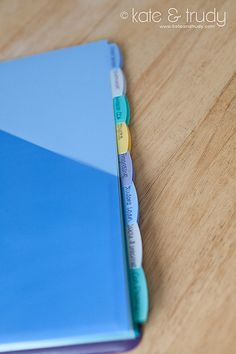 Household Finance Binder