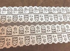 Wide Double Lace  5 1/2 inches  1 yard
