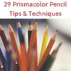 By Nicole Tinkham You asked and we listened. One of the art supplies you were dying to learn more about was Prismacolor colored pencils. Prismacolor brings an array of quality art sup. Prismacolor, Copics, Coloring Tips, Coloring Books, Coloring Pages, Adult Coloring, Colored Pencil Tutorial, Colored Pencil Techniques, Pencil Painting