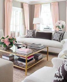Weiße Wohnzimmer Design Ideen