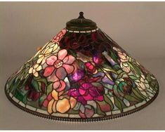 Stained Glass Lamps, Stained Glass Patterns, Leaded Glass, Mosaic Glass, Chandelier Lamp, Ceiling Lamp, Louis Comfort Tiffany, Tiffany Lamp Shade, Lampe Art Deco