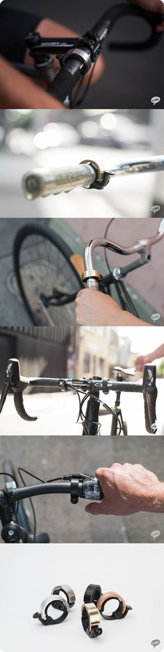 Bike bells generally look and sound a bit ugly. But why? What if they looked sexy and sounded like an angel playing a glockenspiel?
