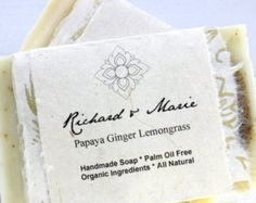 Everyone loves soap! Especially some strong smelling soap that is made from all natural ingredients and vegan friendly! So give your guests a thank you by giving them some vegan friendly soap as a gift.