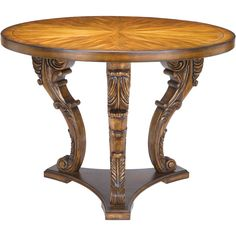 Chandon Centre Piece Accent Table in Brown | Sterling | Home Gallery Stores