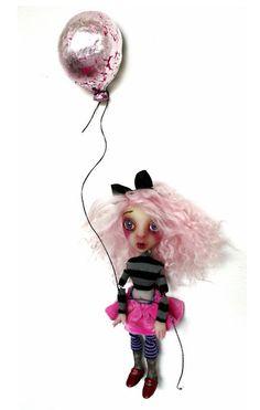 #mini Art Doll by Sheri DeBow