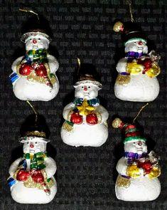 Purple Pack of 25 Mini Miniature Small Shiny /& Matte Christmas Tree Baubles
