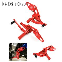 104.48$  Buy here - http://ali4qb.worldwells.pw/go.php?t=32773827382 - ARS-MT07B MT-07 Motorcycle Adjustable Rear set Aluminum Footrests For Yamaha FZ07 /MT07 2014-2016 CNC Billet Rearset Foot Pegs 104.48$