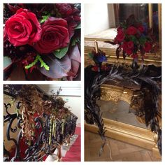 Photoshooting for nevesta.sk in gothic style Gothic Fashion, Grapevine Wreath, Grape Vines, Christmas Wreaths, Holiday Decor, Inspiration, Home Decor, Style, Atelier