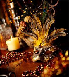 Top 10 DIY Mardi Gras Carnival Face Masks