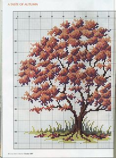 From Cross Stitch Collection Tree in fall pt 2 of 2