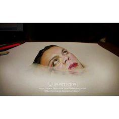 """#3d  Follow the artist: ✏️ @leemarej_art  #artbotic #art #artist # #3dart"" Photo taken by @artbotic on Instagram, pinned via the InstaPin iOS App! http://www.instapinapp.com (05/06/2015)"