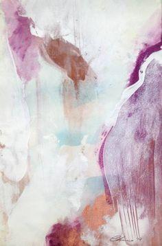 """Saatchi Art Artist Carmen Larsen; Painting, """"Heartbeats Series"""" #art"""