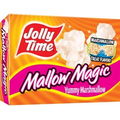 Jolly Time Mallow Magic Popcorn: 3 grams trans fat per serving (2 tbsp unpopped popcorn)