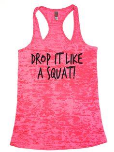 Workout Clothing // Drop it like a squat by AbundantHeartApparel