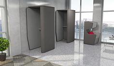 Acoustic Office Furniture | Privacy Furniture Booths