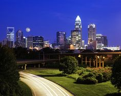 Charlotte NC- I love this city!  It would easily be a place I'd settle down!