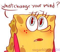 hi hello ! Im A Nerd Spongebob Drawings, Anime Version, Cartoon Sketches, Sponge Bob, Alexander Hamilton, Under Pants, Cartoon Movies, Popular Movies, Spongebob Squarepants