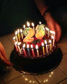 33 Ideas Happy Birthday Cake With Candles Image Happy Birthday Wishes Photos, Happy Birthday Cake Images, Birthday Wishes Cake, Birthday Pictures, Birthday Celebration, Happy Birthday Chocolate Cake, Birthday Chocolates, Birthday Cake With Candles, Birthday Girl Quotes