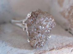rough diamond ring? cool!