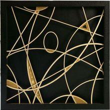 Shadow Box Wall Art zentique abstract framed art | shadow box