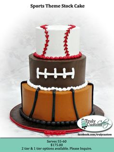 Perfect for Max's Birthday Party...all you have to add is a hockey puck on the top!