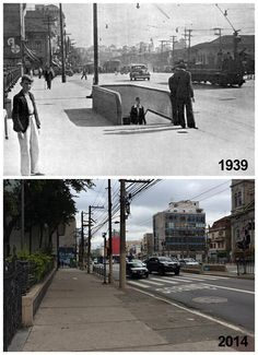 Then and Now: Rangel Pestana avenue in 1939 and 2014