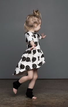 HUXBABY ROLLING BEARS DRESS
