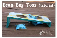 Dragonfly Designs: Bean Bag Toss from Mandy @ Sugar Bee Crafts