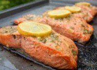 This baked salmon is incredibly flavorful, juicy and flaky. An all-star favorite salmon recipe! Oven baked salmon is a quick and easy dinner idea. Baked Salmon Recipes, Fish Recipes, Seafood Recipes, Dinner Recipes, Cooking Recipes, Healthy Recipes, Paleo Ideas, Salmon Dishes, Fish Dishes