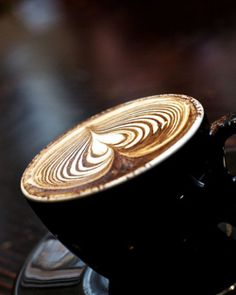 Una hermosa tacita de café para esta mañana :) #Bebidas #Cafe