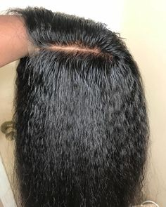 Cheap Brazilian Human Hair Kinky Straight 136 Lace Front Wigs For Black Women Italy Yaki Lace Front Human Hair Wigs Haar en verzorging Black Hair Afro, Black Curly Wig, Black Wig, Curly Wigs, Brown Hair, Curly Hair, Kinky Hair, Natural Hair Wigs, Natural Afro Hairstyles
