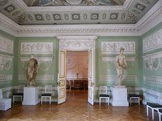 Pavlovsk Palace: the green room _BM