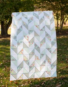Darling Dexter - Herringbone Quilt Kit