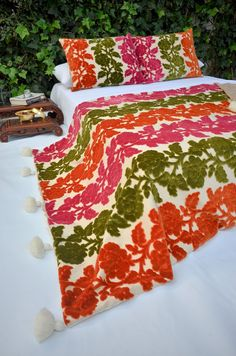 Moroccan Wedding Blanket Handira Throw Floral + 2 pillow sold by Milsouls. Shop more products from Milsouls on Storenvy, the home of independent small businesses all over the world.