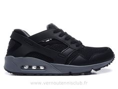 7985a0fc0c7 Nike Air Huarache Max 90 Noir et argent New York Fashion