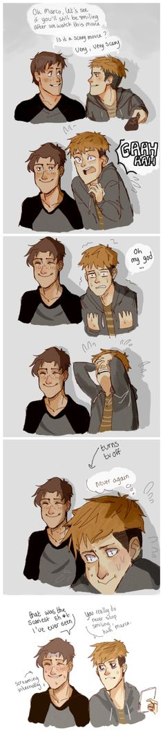Attack on Titan ~~ Marco smiles no matter the situation :: Marco and Jean