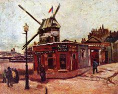 Le Moulin de la Galette 1886 Vincent Van Gogh