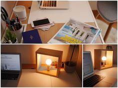 etiennebois avis lampe ebeniste bois pixys lampe de bureau en bois made in France déco fabriqué en france artisanat design