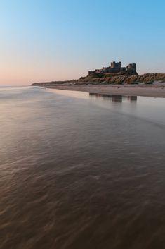 Beautiful landscape image of Bamburgh Castle on Northumberland c by Matt Gibson / 500px